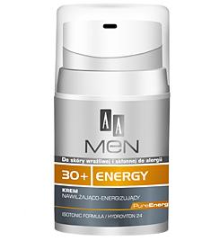 AA Men 30+ Energy, Krem nawilżająco - energizujący, 50 ml