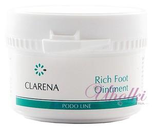 CLARENA Rich Foot Ointment, Kosmetyczna maść z żywicą do pękającej skóry, 75 ml