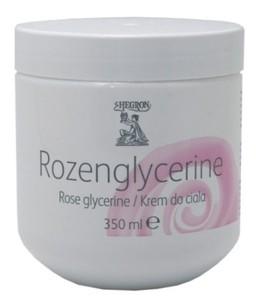 HEGRON ROZEN  GLYCERINE - różany  krem glicerynowy do ciała. Skóra szorstka, sucha,  350 ml