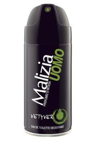 MALIZIA Uomo Vetyver Dezodorant w sprayu 150 ml