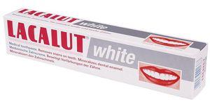 LACALUT White - wybielająca pasta do zębów. Ochrona przed próchnicą 75 ml