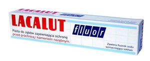 LACALUT Fluor - pasta do zębów. Ochrona przed próchnicą i kamieniem. 75 ml