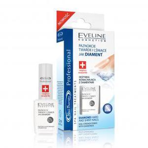 EVELINE Nail Therapy, Odżywka do paznokci wzmacniająca z diamentami, 12 ml