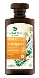 FARMONA Herbal Care, Szampon do włosów Rumianek, Włosy rozjaśnione i blond, 330 ml