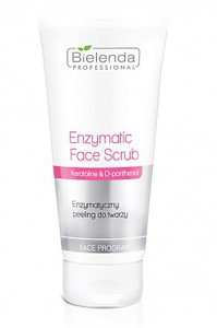 BIELENDA Professional, Enzymatyczny peeling do twarzy, cera sucha, bardzo wrażliwa, naczynkowa, 150g