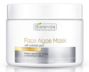 BIELENDA Professional, Ujędrniająca maska algowa z Koloidalnym Złotem, 190g/500 ml