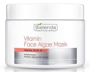 BIELENDA Professional, Witaminowa maska algowa z wapniem, każda cera dojrzała, 190g/500 ml