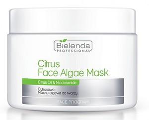 BIELENDA Professional, Cytrusowa maska algowa, cera tłusta, mieszana, trądzikowa, 190g/500 ml