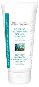 BIELENDA  Professional, Odżywczo – nawilżająca maska z kawiorem, cera sucha, mieszana, wrażliwa, 175 ml