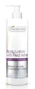 BIELENDA Professional, Ujędrniający balsam do ciała z czerwonym winem, 500 ml