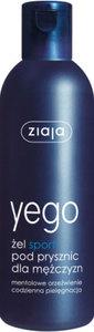 ZIAJA Yego, Żel Sport pod prysznic dla mężczyzn, 300 ml