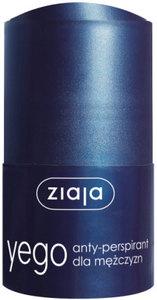 ZIAJA Yego, Dezodorant anty-perspirant dla mężczyzn, roll-on 60 ml