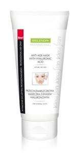 BIELENDA Professional, Przeciwzmarszczkowa maska z kwasem hialuronowym, cera dojrzała, sucha, 175 ml
