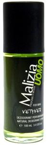 MALIZIA Uomo Vetyver DNS, Dezodorant perfumowany męski w szkle, 100 ml