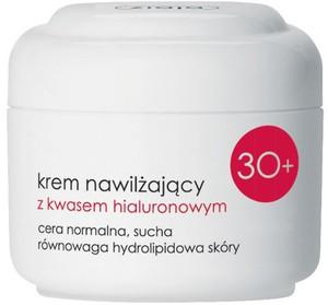 ZIAJA Kremy 30+, Nawilżający krem z kwasem hialuronowym na dzień, cera normalna i sucha 50 ml