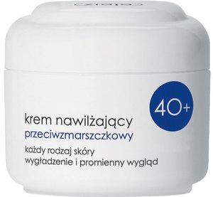 ZIAJA Kremy 40+, Nawilżający krem przeciwzmarszczkowy na dzień z kwasem migdałowym, cera dojrzała 50 ml