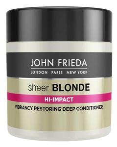 JOHN FRIEDA Sheer Blonde, Lihtening Deep Conditioner, Regenerująca maska do włosów blond farbowanych, rozjaśnianych 150 ml