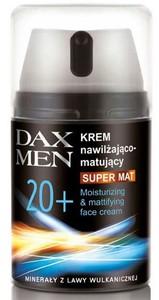 DAX Men Super Mat, Nawilżająco - matujący krem do twarzy dla Panów 20+, 50 ml