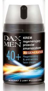 DAX Men Regeneration, Regenerujący krem przeciwzmarszczkowy do twarzy  40+, 50 ml
