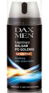 DAX Men Sensitive, Łagodzący  balsam po goleniu, cera sucha i wrażliwa, 100 ml