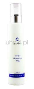 CLARENA, Hyaluron 3D Milk, Ultra-nawilżające mleczko do demakijażu z 3 rodzajami kwasu hialuronowego, 200 ml