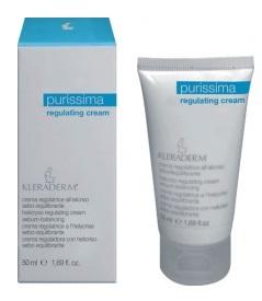 KLERADERM Regulating Cream, Krem regulujący, cera tłusta i trądzikowa, 50 ml