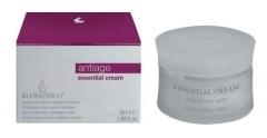 KLERADERM Essential Cream, Przeciwzmarszczkowy krem naprawczy, cera dojrzała, 200 ml