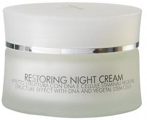 KLERADERM Restoring Night Cream, Krem przeciwzmarszczkowy z komórkami macierzystymi na noc, cera dojrzała, 50 ml