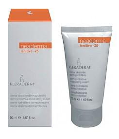 KLERADERM Lenitive-25, Odżywczy krem z filtrem 25, cera naczyniowa, wrażliwa, podrażniona, 200 ml