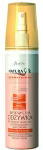 MARION Natura Silk, Błyskawiczna odżywka bez spłukiwania do włosów łamliwych, 150 ml