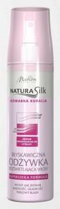 MARION Natura Silk, Błyskawiczna odżywka bez spłukiwania rozświetlająca, 150 ml