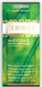 DERMIKA Nasycenie, Kremowa maseczka bionawilżająca z algami do kazdej cery, 10 ml