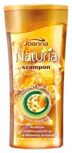 JOANNA Naturia Biosiarka i Bursztyn, Szampon do włosów przetłuszczajacych sie i skłonnych do łupieżu, 200 ml