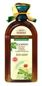 GREEN PHARMACY, Szampon z żeń-szeniem, włosy mieszane, 350 ml