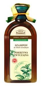 GREEN PHARMACY, Szampon z pokrzywą zwyczajną, włosy normalne i skłonne do przetłuszczania, 350 ml