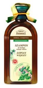 GREEN PHARMACY, Szampon z łopianem większym, każdy rodzaj włosów, 350 ml