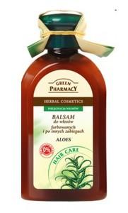 GREEN PHARMACY, Balsam z aloesem, włosy farbowane i rozjaśniane, 300 ml