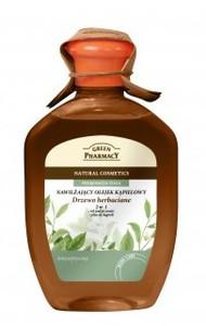 GREEN PHARMACY, Olejek do kąpieli i żel pod prysznic 2w1 Drzewo Herbaciane, antyseptyczny, 250 ml