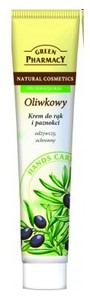 GREEN PHARMACY, Odżwyczy i ochronny krem do rąk Oliwka, 100 ml