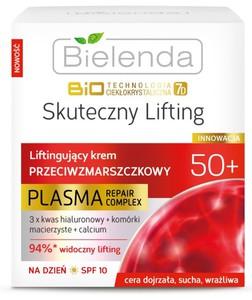 BIELENDA Biotechnologia Ciekłokrystaliczna 7D 50+, Liftingujący krem przeciwzmarszczkowy na dzień, 50 ml