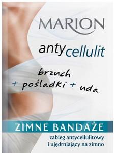 MARION Antycellulit, Zimne bandaże na ciało do zabiegu antycellulitowego i ujędrniającego, 50 ml
