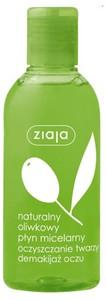 ZIAJA Oliwkowa, Bezzapachowy oliwkowy płyn micelarny, 200 ml