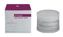 KLERADERM Eye Cream, Przeciwzmarszczkowy krem pod oczy, 200 ml
