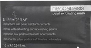 KLERADERM Pearl Exfoliating Mask, Złuszczająca maska kremowa z perłą, cera dojrzała, 200 ml