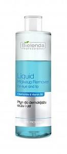 BIELENDA Professional, Dwufazowy płyn do demakijażu oczu i ust, 200 ml