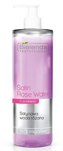 BIELENDA Professional, Satynowa woda różana do demakijażu,cera sucha i wrażliwa, 500 ml