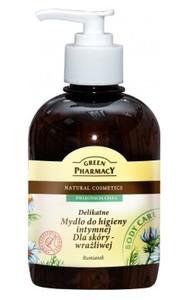 GREEN PHARMACY, Delikatne mydło do higieny intymnej Rumianek, skóra wrażliwa, 370 ml