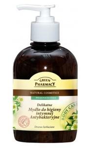 GREEN PHARMACY, Antybakteryjne, delikatne mydło do higieny intymnej Drzewo herbaciane, 370 ml