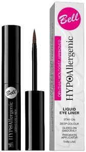 BELL HypoAllergenic Liquid Eye Liner, Hypoalergiczna konturówka do oczu w płynie, 20 Brązowa, 2 ml