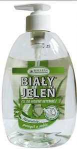 BIAŁY JELEŃ, Żel do higieny intymnej z aloesem, 500 ml